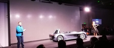 Първият български спортен електрически автомобил